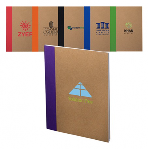 Custom Eco Notebooks Seattle Screen Printing and Promotional Product Supplier