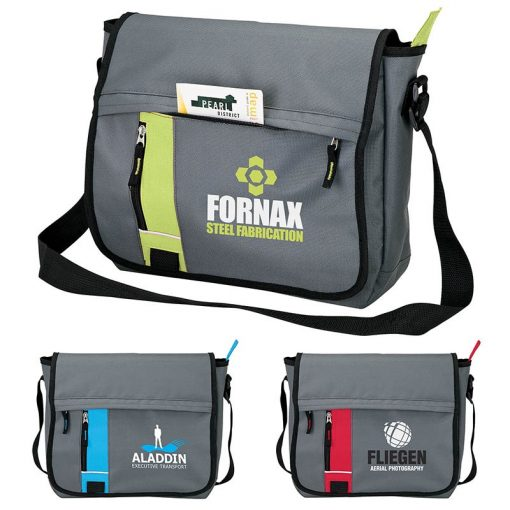 Custom Printed Messenger Bags. Custom Promotional Products Seattle. Seattle Screen Printing