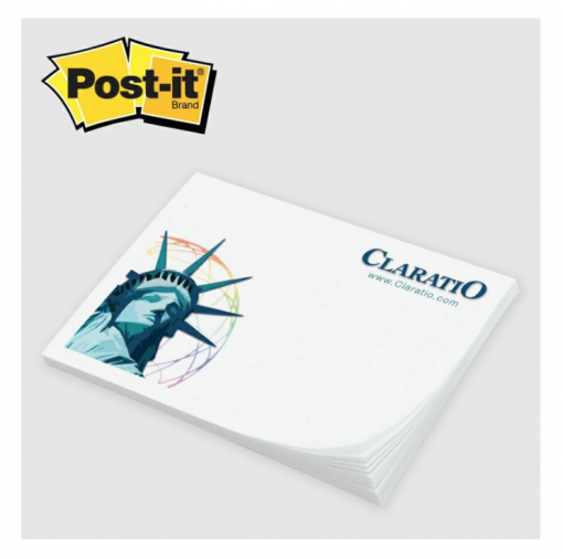 Custom Post-it Notes Seattle screen printing and promotional products supplier