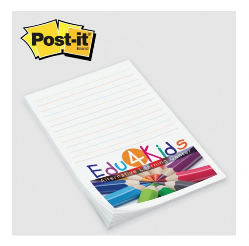 Custom Post-Its 4x6 . Seattle Screen Printing and Promotional Product Supplier