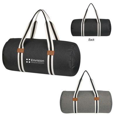 Custom Retro Duffel Bags. Custom Promotional Products. Seattle Screen Printing