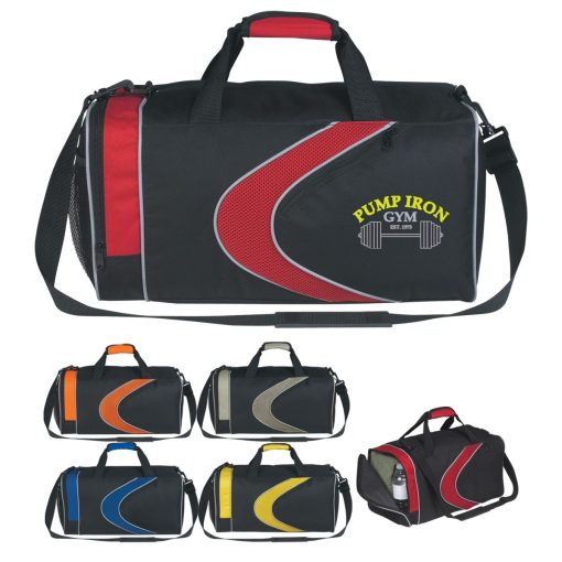 Custom Sports Duffel Bags. Seattle Promotional Products. Seattle Screen Printing