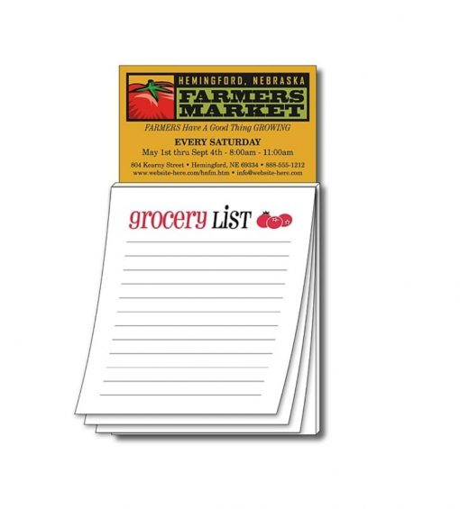 Custom Branded Notepads Seattle Screen Printing and promotional product supplier. Seattle Merch Supplier