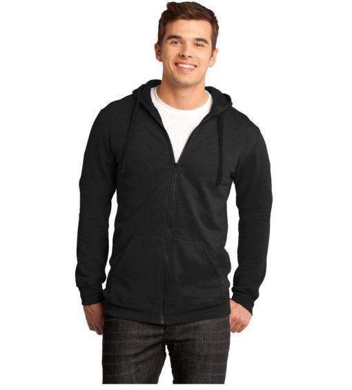 District® Young Men's Concert Fleece™ Full Zip Hoodie