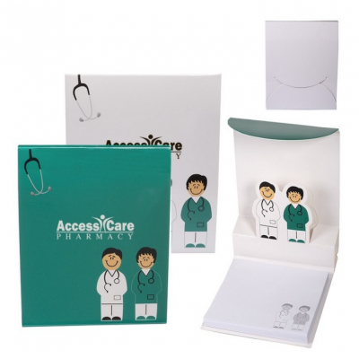 Personalized Cube Notepads for your branded business! Screen Printing & Promotional Product Supplier. We Drop Ship!
