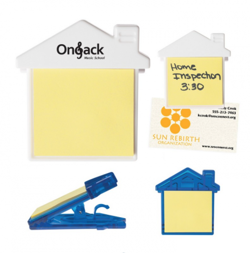 Realtor Sticky Notes Seattle Screen Printing and Promotional Product Supplier. Drop Shipping available