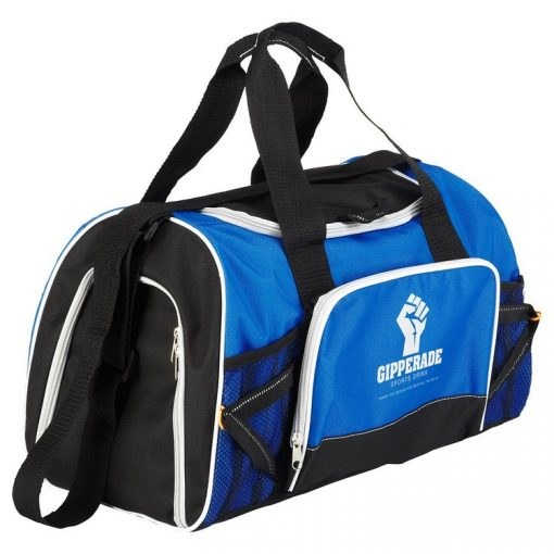 Marathon Sports Duffel Bag. Seattle Promotional Products. Seattle Screen Printing