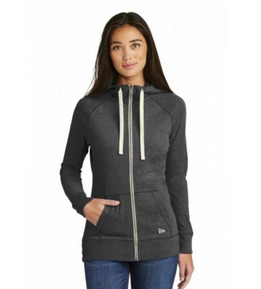 New Era® Ladies' Sueded Cotton Full Zip Hoodie