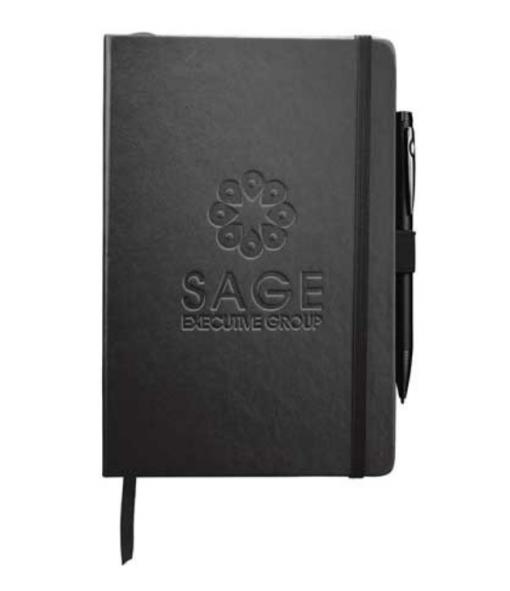 custom printed and embossed notebooks seattle