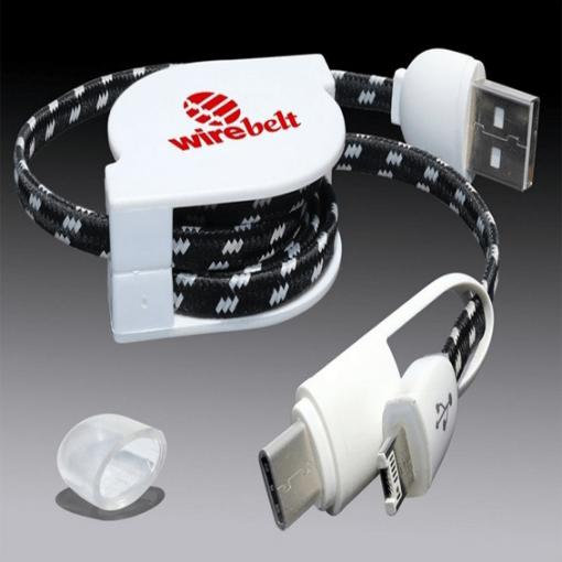 Custom Imprinted Retractable USB
