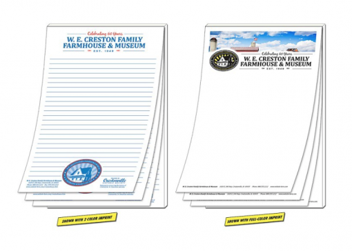 Custom Real Estate Notepads Seattle Custom Notepads perfect for realtors and real estate companies. Brand your business with custom notepads.