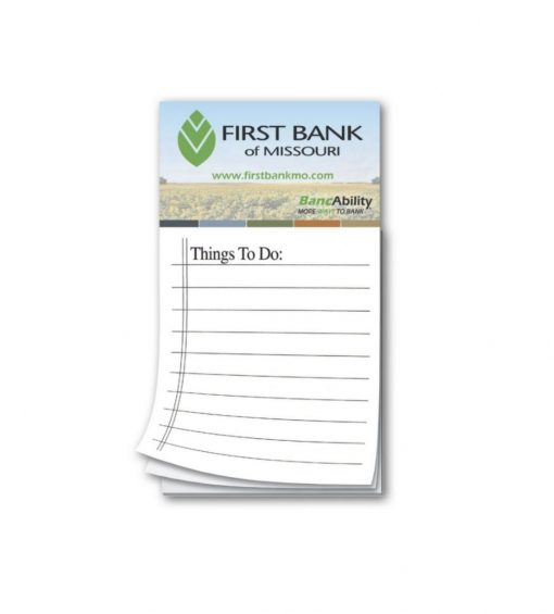 Screen Print Notepads Seattle Screen Printing and Promotional Product Supplier. Custom Notepads for branded businesses