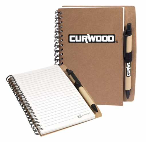Custom Spiral Notebooks. Seattle Screen Printing and Promotional Product Supplier