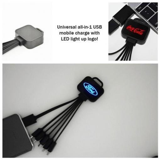 Custom Neon USB Cable