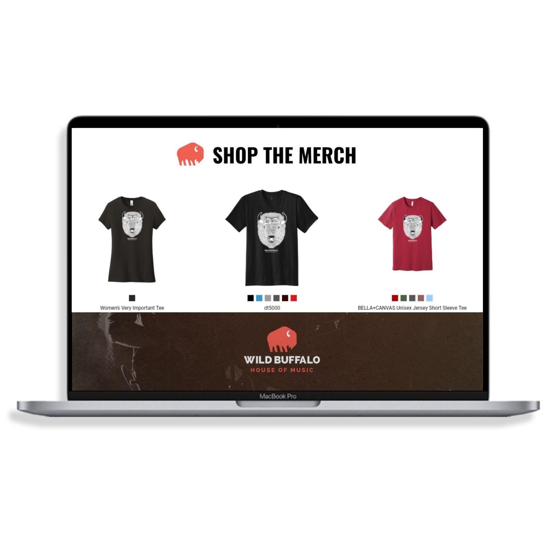web store for Wild Buffalo Bar