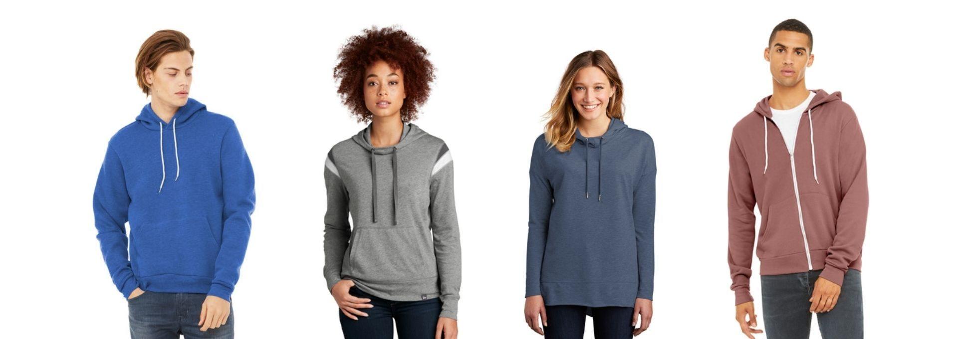 custom printed hoodies and sweatshirts seattle